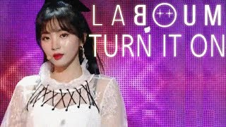 [HOT] LABOUM - Turn It On,  라붐 - 불을 켜  Show Music core 20181222