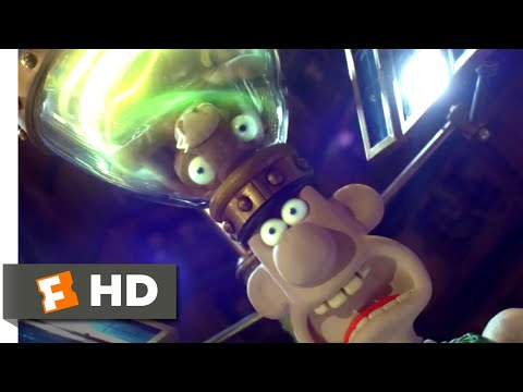 Wallace & Gromit: The Curse of the Were-Rabbit (2005) - Bunny Brainwashing Scene (3/10) | Movieclips