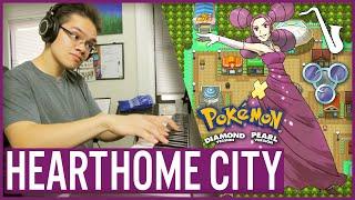 Pokémon DPPt: Hearthome City Bossa Nova Jazz Arrangement (feat. Xnarky)