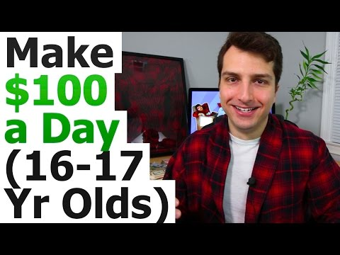 5 Ways To Make $100 a Day Online As a Lazy 16-17 Year Old