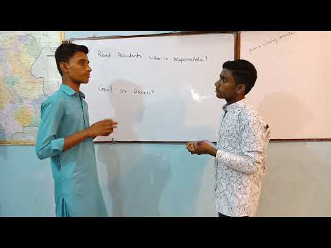 A General Debate on Road Accidents by Mohammed Ali & Mahesh Kumar
