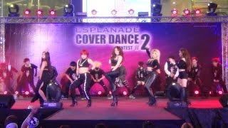 150426 4Mini cover 4Minute - Who's Next + Huh + Crazy + Red + Whatcha Doin' Today @Esplanade (Semi)