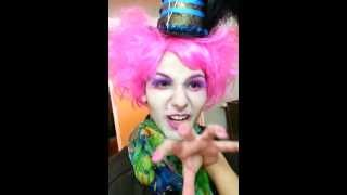 Mad Hatter Costume And Make Up