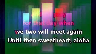 To You Sweetheart, Aloha   Andy Williams