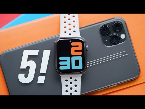 External Review Video 5TuyvWoaAZk for Apple Watch 5