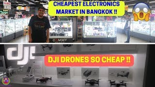 I Bought DJI INSPIRE 2 ?? | Cheapest ELECTRONICS Market in BANGKOK | 😍😍😍