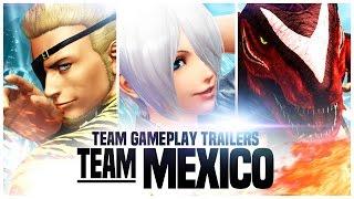 "KOF XIV - Team Gameplay Trailer #9 ""MEXICO"""