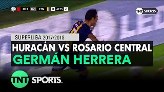 Germán Herrera 0 2 Huracán Vs Rosario Central Fecha 15 Superliga Argentina 20172018