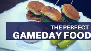EASY GAME DAY FOOD | SALMON SLIDERS | FOOTBALL | TAILGATING PARTY