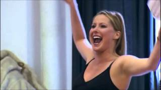 """Auditions for Maggie """"At the Ballet"""", A Chorus Line, Mara Davi wins! (from Every Little Step)"""
