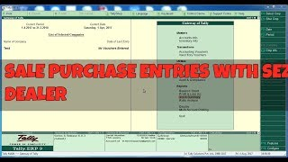 purchase entry in tally gst