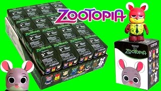 Disney Zootopia Vinylmation FULL CASE Unboxing Blind SURPRISE Zootropolis Zootopie Зверополис 주토피아