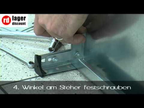 Schraubregal MIERA 430W - Haushaltsregal weiß