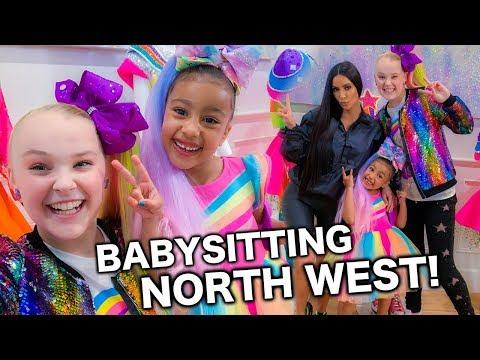 BABYSITTING NORTH WEST!!! - JoJo Siwa