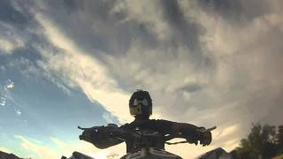 preview picture of video 'GoPro HERO3: Doing wheelies with my Can-Am DS 450 Xmx.'