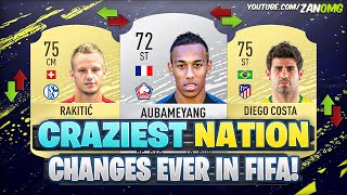 CRAZIEST NATION CHANGES EVER IN FIFA HISTORY! 😱