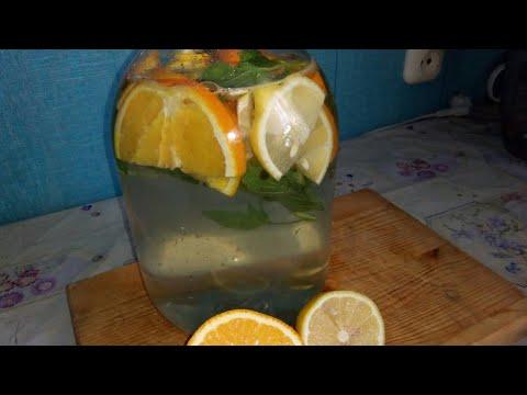 Классный освежающий лимонад МОХИТО/ Как спастись от жары!