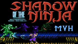 Shadow of the Ninja HD (Blue Shadow Hack) - NES Longplay - HAYATE Playthrough (NO DEATH RUN)