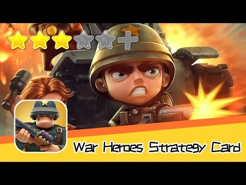 War Heroes Strategy Card Games - Walkthrough New Solutions to Danger Recommend index three stars
