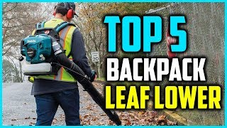 Top 5 Best Backpack Leaf Blower - What is The Best Backpack Leaf Blower?
