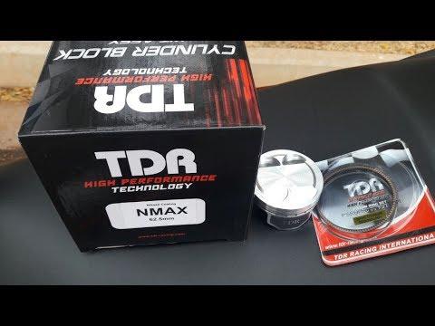 YAMAHA NMAX 160 - KIT TDR 180cc + BAGAGEIRO ORIGINAL KYMCO PARA DOWNTOWN 300i