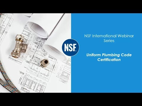 Uniform Plumbing Code Certification: What Is It and Where Is It ...