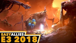 Ori and the Will of the Wisps - 4K Gameplay - Easy Allies E3 2018