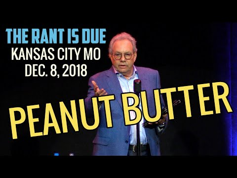 Lewis Black reads a rant about chunky peanut butter... It had to be said