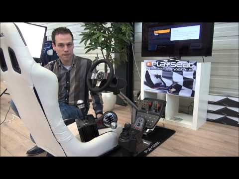 Playseat Evolution Gaming Seat Tom Coronel