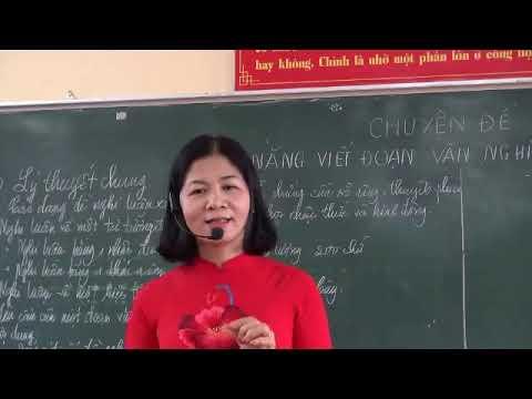 Môn Ngữ văn khối 12 - Kỹ năng viết đoạn văn nghị luận 200 chữ - Nguyễn Thị Dung - Trường PTDTNT