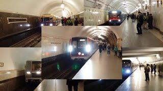 Парад поездов на Кольцевой линии (2017 год)