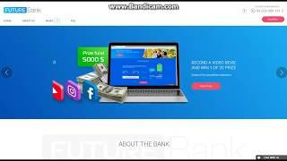 Future Bank - Новый инвестиционный проект! Платит!!!! 6000 Satoshi в сутки Бесплатно!