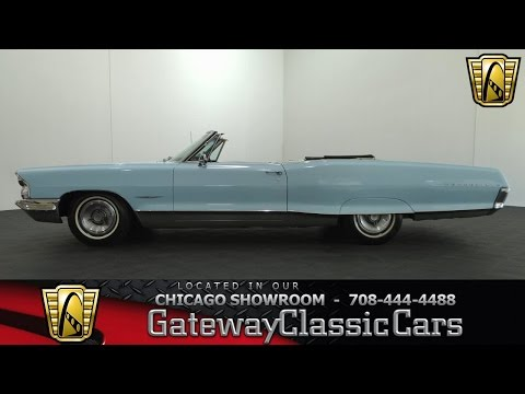 1965 Pontiac Bonneville Gateway Classic Cars Chicago #826