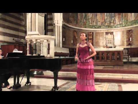 Zandile Mzazi, soprano Student in Rome, Italy (www.ocava.org)
