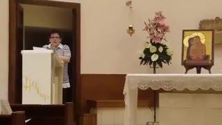 Relazione sui simboli secondo la visione di San Giovanni della Croce, di Anna Maria Micalizzi