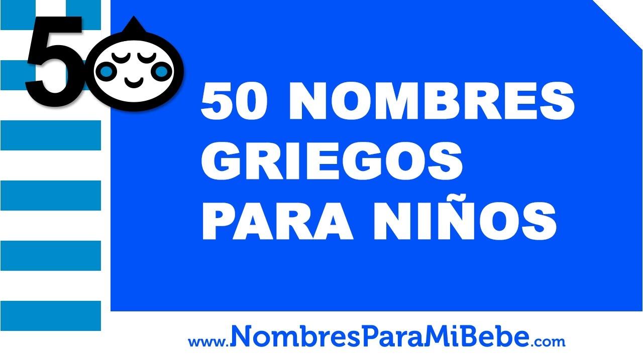 50 nombres griegos para niños - los mejores nombres de bebé - www.nombresparamibebe.com