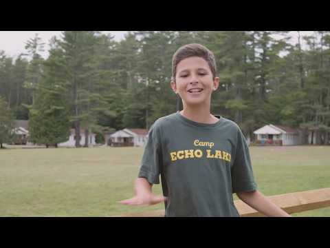 "Camp Echo Lake ""For Kids, From Kids"""
