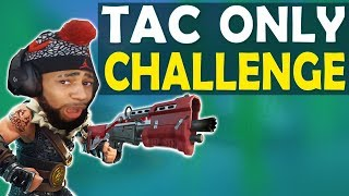 TACTICAL SHOTGUN ONLY CHALLENGE | DAEQUAN GOT BARS | HIGH KILL FUNNY GAME - (Fortnite Battle Royale)