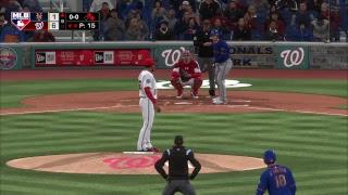 MLB CPU vs CPU League: Mets (5-3) @ Nationals (5-3)