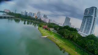 Fpv chasing after the airplane