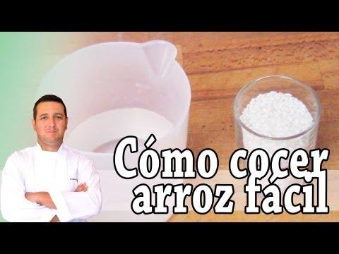 Cómo cocer arroz fácil - Recetas de cocina