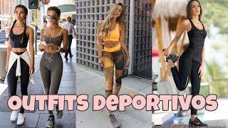 OUTFITS DE MODA DEPORTIVOS | TENDENCIAS PARA IR AL GYM CON ROPA DE DEPORTE | MODA 2019