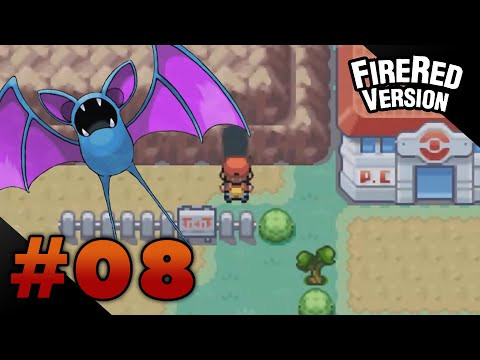 Let's Play Pokemon: FireRed - Part 8 - Rock Tunnel