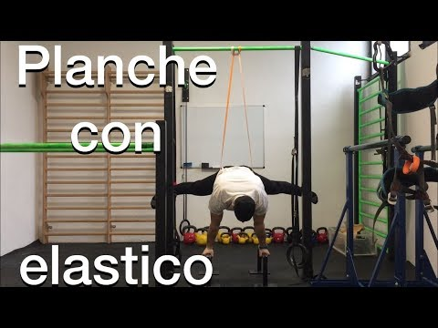 Calisthenics video esercizi con elastico
