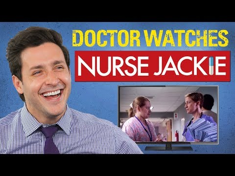 Real Doctor Reacts to NURSE JACKIE   Medical Drama Review   Doctor Mike