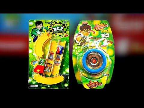 Ben10 Alien Force Car Track Set & Ben10 Yoyo Spiner