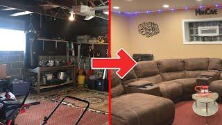 Garage To Mancave Transformation