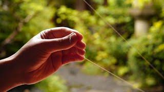 京繍 糸縒り いとより | Japanese Embroidery , How To Twist A Thread By Hands