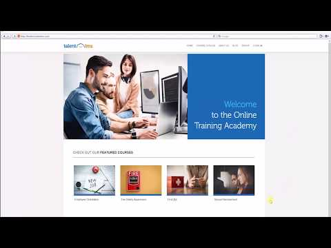 TalentLMS Learning Management System Demo - YouTube