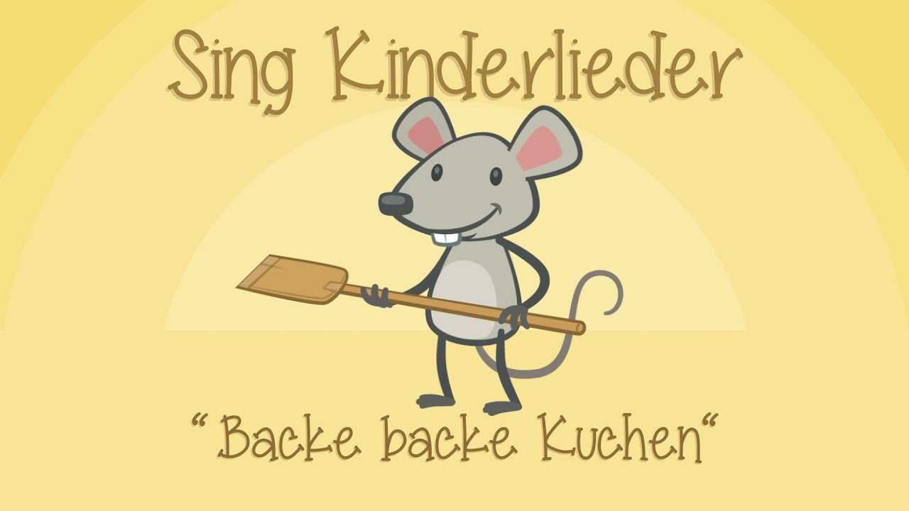 Backe, backe Kuchen Text, Noten & Video zum Mitsingen